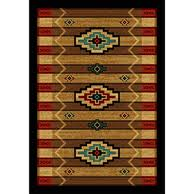 rustic rugs and cabin rugs for your lodge