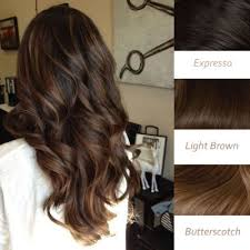 Balayage For Light Brown Hair Light Brown Balayage Indian Remy Clip In Hair Extensions Hsebb