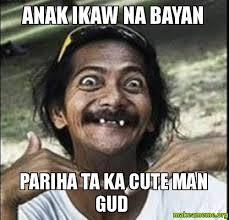 Ikaw Na Meme - anak ikaw na bayan pariha ta ka cute man gud make a meme
