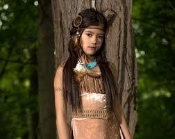 Pocahontas Halloween Costume Women Pocahontas Costume Etsy