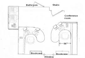 Floor Plan Office Layout Delectable 10 Home Office Floor Plans Design Inspiration Of Home