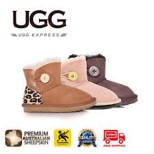 ugg boots child mini premium australian sheepskin ugg boots child mini button premium australian sheepskin non