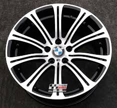 diamond bmw r155 diamond cut gloss black bmw m3 e90 e92 e93 19