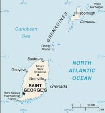 grenada location on world map the world factbook central intelligence agency