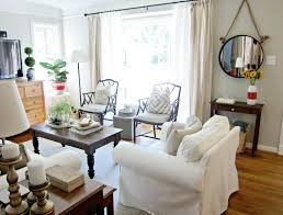 White Slipcover Sofa by Decorating Cozy Striped Slipcovers For Sofas With Cushions