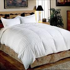 California King Goose Down Comforter Hotel Grand Oversized 500 Thread Count Medium Warmth Siberian