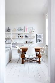 antique table with modern chairs mixing interior styles blog bednest