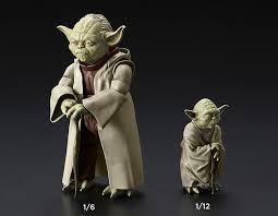 Star Wars Yoda 1 6 1 12 Figure Kit Bandai