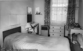 1960 Bedroom Furniture by London A Bedroom St John House Eaton Place C 1960 Francis Frith
