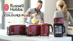 Russell Hobbs Toaster Heritage Kolekcja Colours Plus Flame Red Russell Hobbs Youtube
