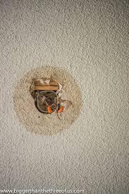 Popcorn Ceilings Asbestos by Drywall U0026 Popcorn Ceiling Repair In A Few Easy Steps Hometalk