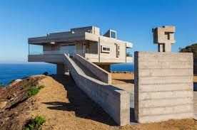 plan concrete house plan concrete holiday home chile gubbins arquitectos block