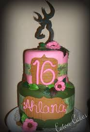 pink camo browning chevy sweet 16 cakes pinterest dads my