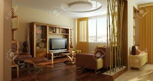 modern lounge room interior 3d rendering stock photo picture and