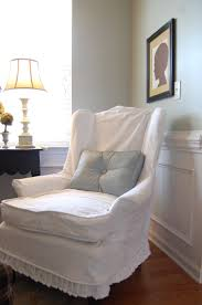 Dining Room Chair Slipcovers With Arms by Oversized Chair Slipcovers Slipcovers For Wingback Chairs