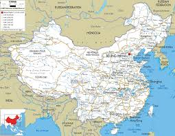 China On World Map by Map Of China Vacations Travel Map Holiday