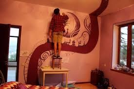 d馗oration chambre peinture murale donnez une dimension féérique à votre chambre avec cette peinture murale