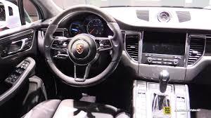porsche macan interior 2017 2017 porsche macan turbo interior walkaround 2017 geneva motor