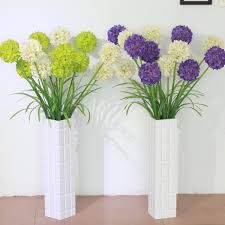 Purple And Green Home Decor by Dining Room Design Interesting Artificial Flowers With Unique