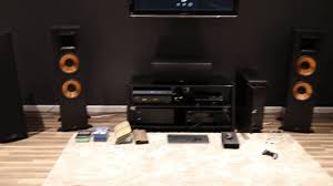 rf 42 ii home theater system klipsch rf 7 vs klipsch rp 280f tascam dr 100 mk3 youtube