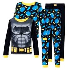 4 pc boy s batman sz 6 pajamas shirt pj sleepwear cotton