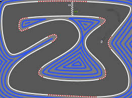 race track c 2d racetrack collision bounce angle of reflection