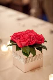 Red Rose Table Centerpieces by 155 Best Prom Images On Pinterest Centerpiece Ideas Wedding