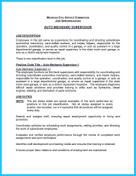 Quality Control Job Description Resume by Writing Your Great Automotive Technician Resume