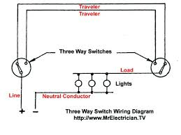three way switch wiring diagram mr electrician