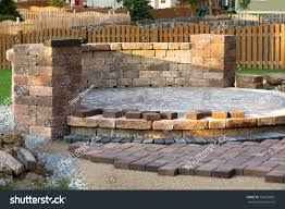Patio Paver Jointing Sand by Pavers Meets Patio Island Patio Island Stock Photo 153693881