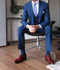 which color shoes should i wear with blue suit quora