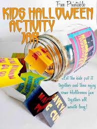 halloween countdown printable boredom jar while he was napping
