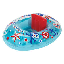 amazon com uclever baby inflatable pool float infant crab seat