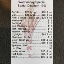 senior hair cut discounts gallery hair and nail salon hair salons 6975 navajo rd san