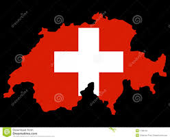 Swiss Map Switzerland Map And Flag Stock Photography Image 8438542
