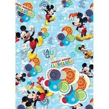 mickey wrapping paper disney junior mickey wrapping paper gift wrap tags