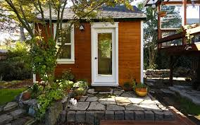 Small House Backyard Living Large In Small Spaces The Grandest Tiny Homes Of Sonoma