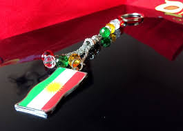 necklace key ring images New fashion kurdistan map jewelry flag necklace keychain alloy key jpg