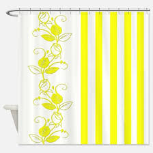 Yellow Flower Shower Curtain Yellow Roses Shower Curtains Cafepress
