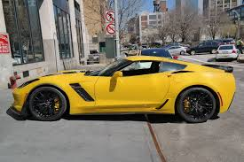 corvette z06 spec yellow 2015 corvette z06 coupe spotted at york event