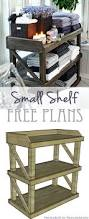 Free Standing Shelf Plans by Diy Small Open Shelf Building Plan Small Shelves Supply List