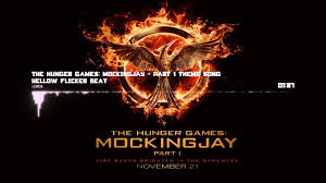 hunger games theme song lorde yellow flicker beat the hunger games mockingjay part 1
