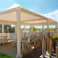 Roof For Patio Metal Gazebo Fabric Roof For Bars Commercial Airone