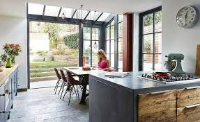 Edwardian Interior Doors Glazed Extension To An Edwardian Terraced House Real Homes
