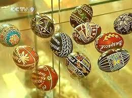 easter egg display 1500 eggs on display at easter egg museum cctv international