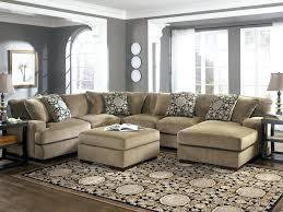 Leather Curved Sectional Sofa by Bright Klaussner Kensington Reclining Chaise Lounge Value City