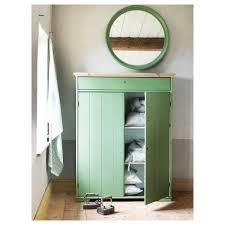 Ikea Slide by Hurdal Linen Cabinet Green 109x50x137 Cm Ikea