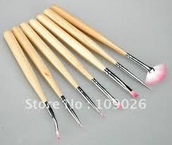 aliexpress com buy nail art tools acrylic uv gel 7 pcs nylon uv