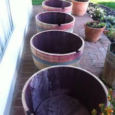 wine barrel planter sales 24 photos u0026 24 reviews outdoor
