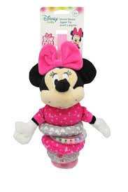 disney baby minnie mouse bow cute jiggler toy toys